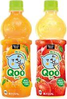 Coca Cola, Qoo, Delicious Orange / Apple Juice, Cute bottle, 470ml, Japan