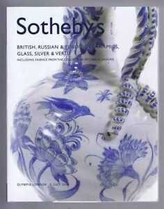 Art: British, Russian & European Ceramics, Glass, vertu etc, Sotheby's July 2006