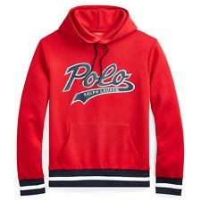 NWT Polo Ralph Lauren Mens Big Tall Logo Hoodie Sweatshirt $148 Red Black 4XB