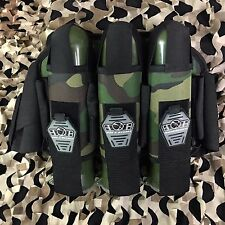 NEW Gen X Global 2013 3+4 Deluxe Pod Pack Harness - Woodland Camo