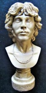 JIM MORRISON BUST -- Resin Figure Statue Sculpture The Doors Prop cd dvd lp lsd
