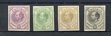 DUTCH WEST INDIES-CURACAO-1873 -54Ct. #3 --4 x COLOUR -PROOF (*)