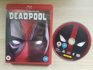 Deadpool (Blu-ray, 2016) DISC AND COVER ONLY