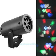 Snowflake Laser LED Projector Light Landscape Outdoor Garden Xmas Party Decor UK
