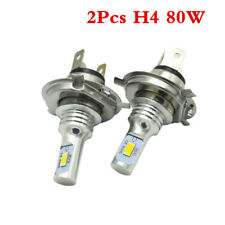 H4 9003 HB2 3570 LED Headlights Bulb Kit High Low Beam 6000K White Plug And Play