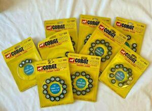 "Collection of CORGI TOYS ""Golden Jacks"" Wheels - (ROM)"