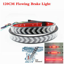 Tailgate Double Row LED Flexible Strip Running Turn Signal Brake Light Bar 120CM