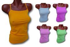 Top, Canotta, T-shirt Donna Spalla stretta, Microfibra. Seamless senza cuciture.