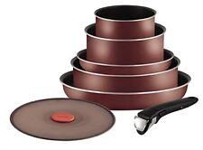 Tefal L2099402 Set de Poêles et casseroles - Ingenio 5 Essential Rouge velours 7
