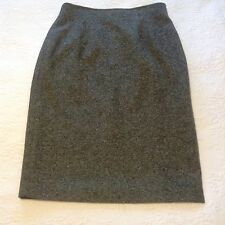 Cerruti 1881 100% Virgin Wool Skirt Sz.12 FREE SHIP