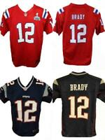 New Tom Brady #12 New England Patriots YOUTH Size S-M-L-XL Nike Jersey $70