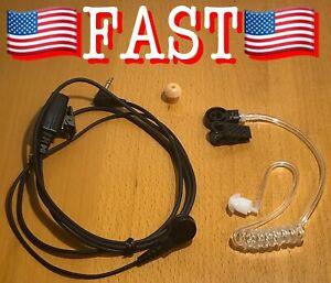 SPM-1399-A One Wire Earpiece Earphone Kit + PTT for Cellphones + Tablets 2.5mm J