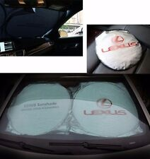 For Lexus Front Rear Car Window Foldable Sun Shade Shield Cover Visor UV Block