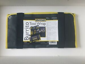 Pedro's Bike Workshop Tools - Burrito Tool Wrap - Black & Yellow - Free Delivery