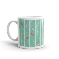Lindo Aves en Invierno árbol Taza-Regalo Mamá Hermana amigo tía Té Café #8194