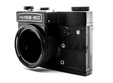 Kiev 60 MLU BLACK/SILVER Arsenal 6x6 medium format camera BODY flocked, NEW/CLA