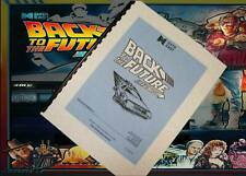 Back To The Future Pinball Arcade Game Parts And Operation Manual  (1990)
