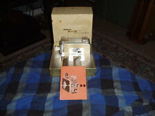 Vintage KODAK BROWNIE 8MM Movie Camera 2 Collector W/ Box & Paper Swag VG !