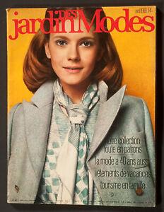 'JARDIN DES MODES' FRENCH VINTAGE MAGAZINE APRIL 1969