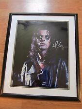 Alice Cooper Signed and Numbered Poster  Signed Autograph Limited Edition 47/90