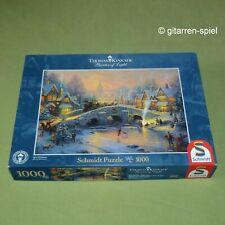 Thomas Kinkade Puzzle Spirit of Christmas hivernal village 1000 pièces 1 A Top!