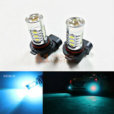 2x Ice Blue 9005 15w High Power Bright LED Bulbs 5730 DRL/High Beam Headlight