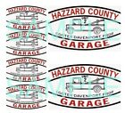 Hazard County Garage Decals Cooter's tow truck 1:32, 1:24, 1:18 0r 1:10 scale