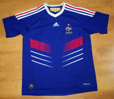 NEW Adidas France 2009/2011 home shirt (For height 152 cm)