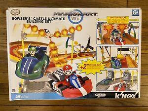 Knex Mariokart Wii Bowser's Castle Ultimate Building Set INCOMPLETE