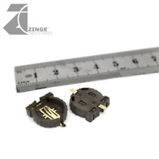 Zinge Industries Battery Small 12mm CR 1220 Holder Low Profile x10 New E-BAT05