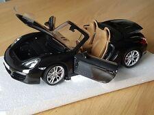 Porsche Boxster S981 Basalt Schwarz Minichamps 1:18 Neu