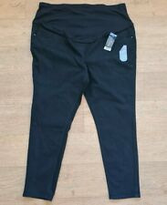 Ladies Size 22 Black Over Bump Maternity Jeans Brand New With Tags