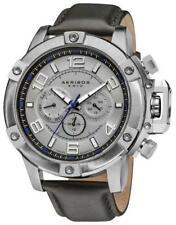 Akribos XXIV AK605WT Conqueror Multi-Function Stainless Steel Swiss Mens Watch