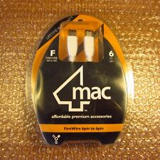 RARE iPOD FIREWIRE CABLE CHARGING CABLE 1ST & 2ND GENERATION APPLE CLASSIC MAC