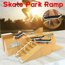 Skate Park Ramp Parts Handrail Sports For Tech Deck Fingerboards Xmas Gift