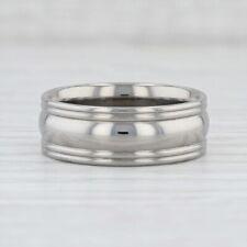 Neu Herren Ring Ehering Größe 9.75 Titan