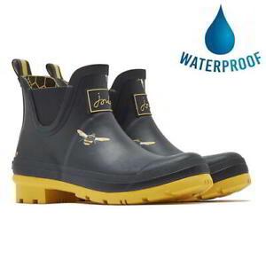 Joules Wellibob Womens Ladies Short Wellies Wellingtons Chelsea Boots Size 4-8
