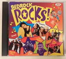 Flintstones Bedrock Rocks! (1999 Kid Rhino CD w/Brandy/The Knack/more) LN COND