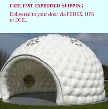 Large Inflatable Dome Event Tent Wedding Party Business Social. 19.6' W x 13' H