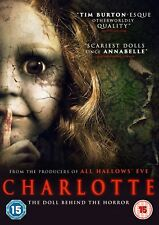 CHARLOTTE (DVD) (NEW) (HORROR) (RELEASED 5TH FEBRUARY) (FREE POSTAGE)