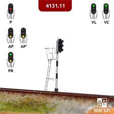 Mafen - 4131.11 - Señal luminosa 3 aspectos (verde/rojo/ambar) Fine Scale