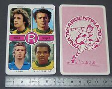 DIRCEU GIL LEAO PEREIRA BRASIL AGEDUCATIFS FOOTBALL ARGENTINA 78 1978 PANINI