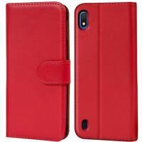Book Case für Samsung Galaxy A10 Hülle Handy Tasche Klapphülle Flip Cover Schutz