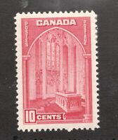 #241a - Canada - 1938 - 10 Cent stamp - MH  - VF - superfleas