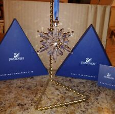 Swarovski Large 2006 Christmas Ornament*New* In Original Box With Certificate*