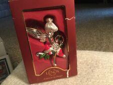 "Lenox ""Santa'S Little Helper"" Tinker Bell Disney Ornament w/Original Box"