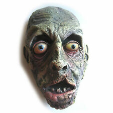 """Lifesize Severed Rotting Zombie Head Haunted House Halloween Party Prop 11"""""""