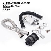 For Air Diesel Heater Exhaust Muffler kit Pipe Air Intake Durable Practical