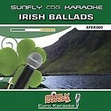 IRISH BALLADS SUNFLY KARAOKE CD+G / 18 TRACKS