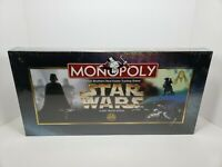 Star Wars Monopoly (Classic Trilogy Edition) 1997 Brand New Sealed